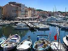 Photo of the historical St. Tropez Vieux Port (Old Port)