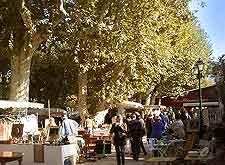 St. Tropez's Place des Lices picture