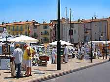 Picture of St. Tropez quay
