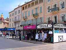 Picture of St. Tropez quayfront stores