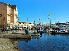 Further view of St. Tropez marina