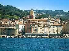 St. Tropez scenic coastal view
