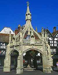 Picture of Salisbury's Poultry Cross market square shelter