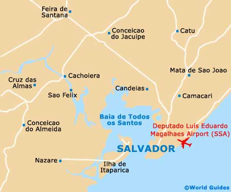 Small Salvador Map