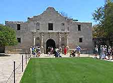 Image of the historic Alamo