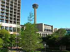 Photo of San Antonio city center