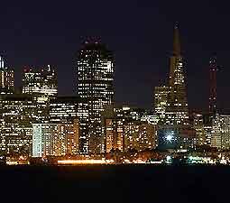 San Francisco at night photo