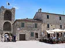 Monteriggioni view