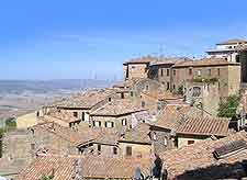 Rooftop image of Volterra