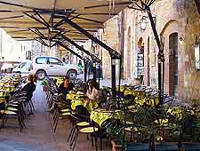Photo of outdoor seating