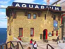 Further view of San Sebastian's Aquarium