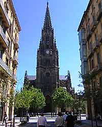 The Cathedral of the Good Shepherd, San Sebastian photograph