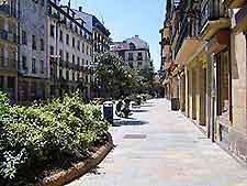 Photo of San Sebastian shopping district
