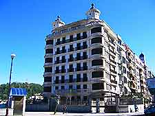 Photograph of a San Sebastian hotel