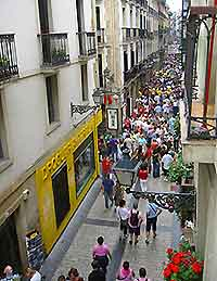 San Sebastian's Parte Vieja photograph
