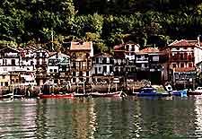 Port village of Pasaia photo