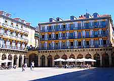 Further al fresco dining in the Plaza de la Constitucion, San Sebastian image