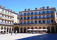 Further al fresco dining in the Plaza de la Constitucion, San Sebastian image