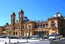 San Sebastian plaza image