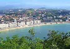 Image overlooking San Sebastian