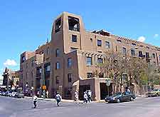Santa fe districts santa fe new mexico nm usa the state capital of new mexico santa fe is a delightful city set on a plateau at the foot of the soaring sangre de cristo range with a number of charming publicscrutiny Choice Image