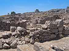 Further picture of the Ancient Thira (Thera) remains