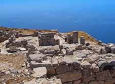 View of Ancient Thira (Thera)