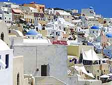 Picture taken in the village of Oia
