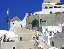 Additional picture of the white buildings in Oia village