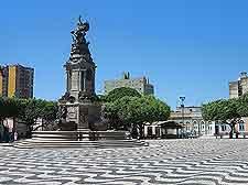 Picture of central Sao Sebastiao plaza
