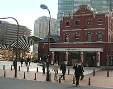 Picture of the famous Sapporo Brewery