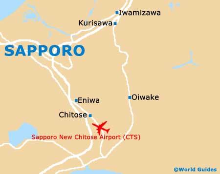 Small Sapporo Map