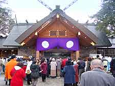 Picture showing the Hokkaido Jingu