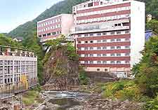 Different view of Jozankei Onsen