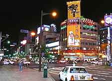 Different view of the Susukino district