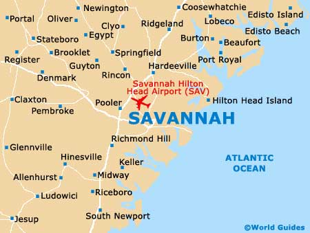 Small Savannah Map