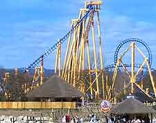 Photo showing the Kumali roller coaster at Flamingo Land Theme Park