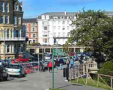 View of the town centre