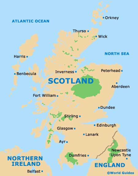 Scotland Tourism and Tourist Information: Information about ...