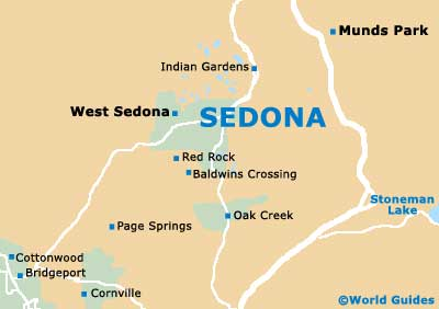 Small Sedona Map