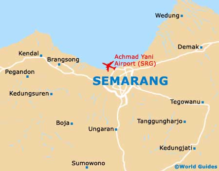 Small Semarang Map