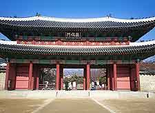 Changdeok-gung Palace photograph