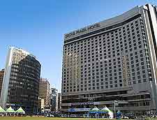 Picture showing the Seoul Plaza Hotel