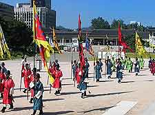 Gyeongbok-gung Palace ceremony photo