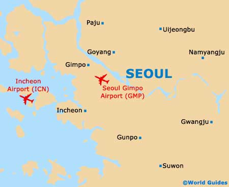 Gmp Subway Map.Map Of Seoul Gimpo Airport Gmp Orientation And Maps For Gmp Seoul