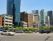 City centre image