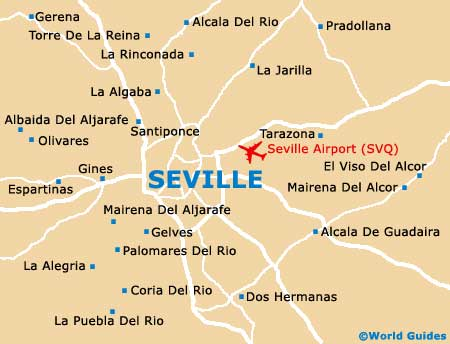 Small Seville Map