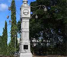 Photo of Victoria's famous Clock Tower
