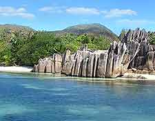 Image of beach on Curieuse Island, Seychelles