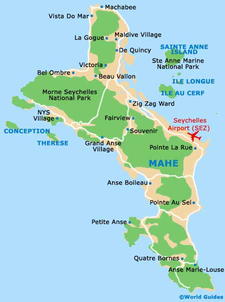 Seychelles Maps and Orientation Seychelles Africa